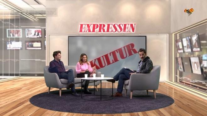 Daniel Sjölin och Alexandra Pascalidou om Augustpriset, Expressen Kultur