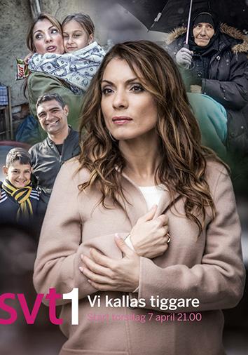 Alexandra Pascalidou programledde dokumentärserien Vi kallas tiggare i SVT