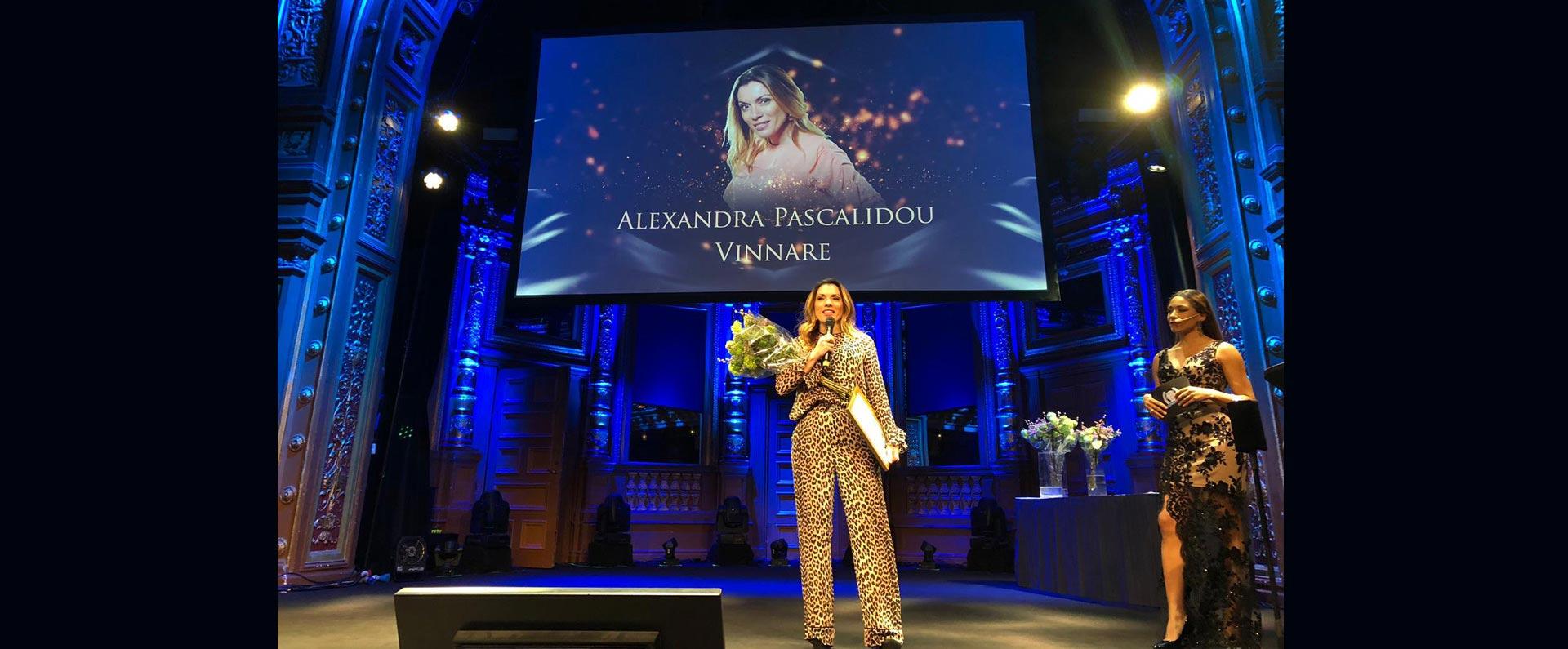 Alexandra Pascalidou vinnare