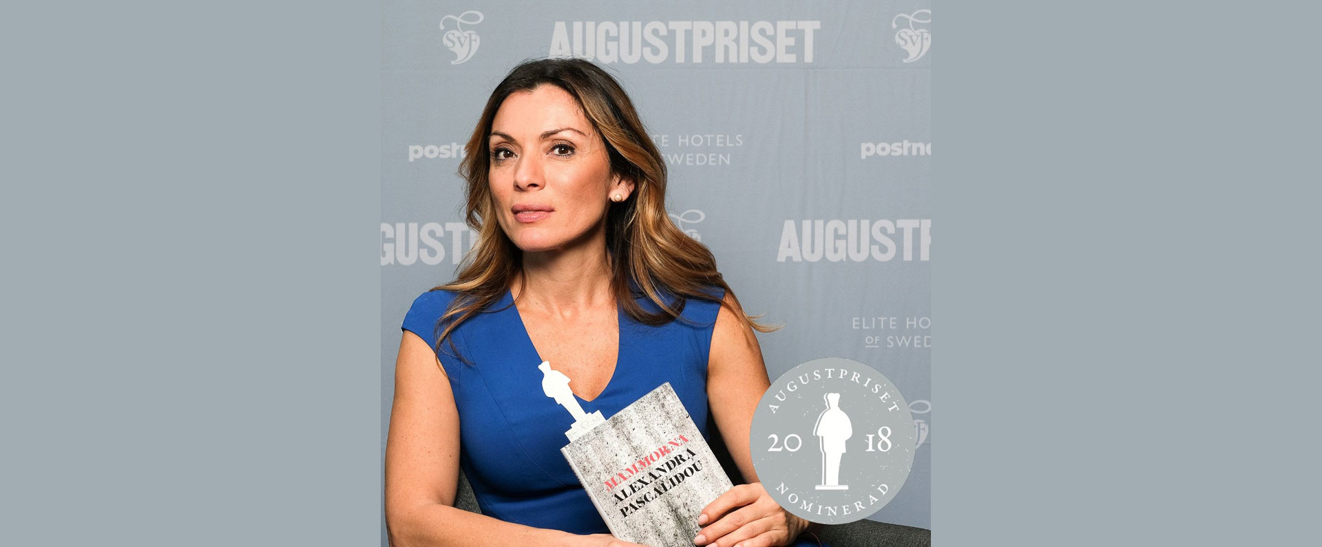 Alexanda Pascalidou tilldelades Augustpriset för boken Mammorna