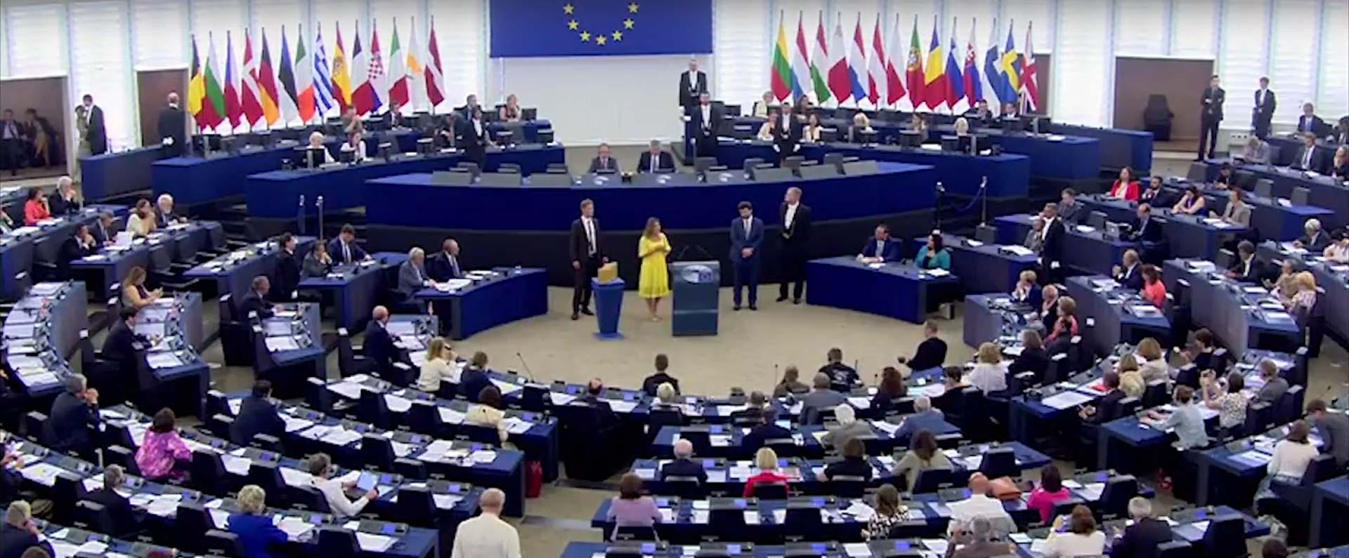 Alexanda Pascalidou talare på European Union 2017