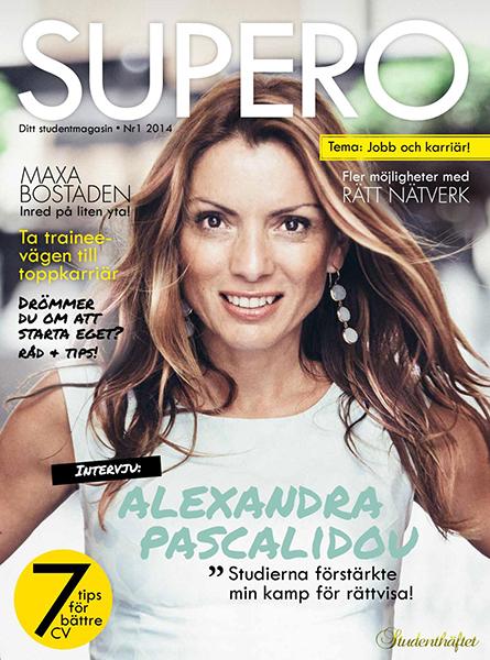 Omslag Supero Alexandra Pascalidou