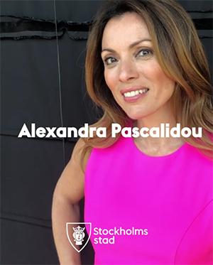 Alexandra Pascalidou har tilldelats Bellmanpriset - 2018