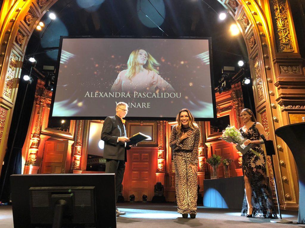 Alexandra Pascalidou utsedd till Årets Talare - Moderator av Talarforum, 2018