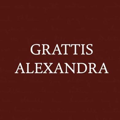 Grattis Alexandra som blivit nominerad till Augustpriset