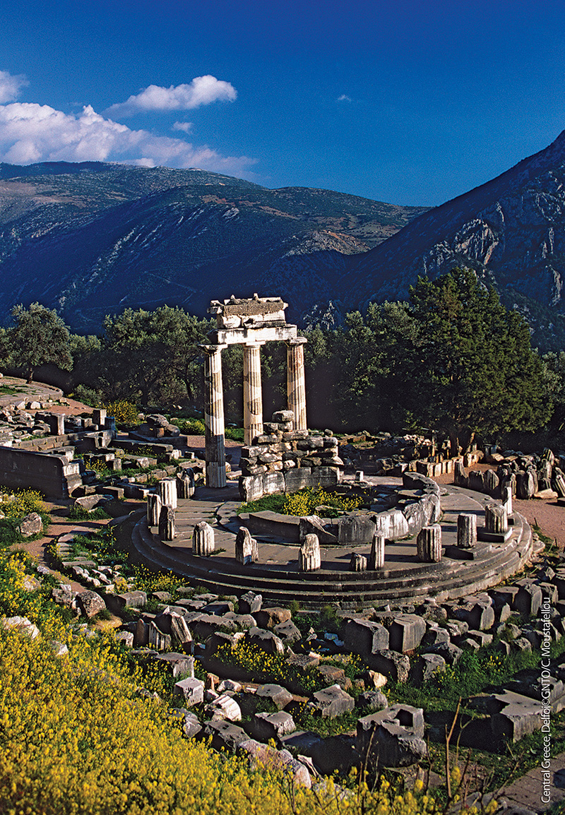 Central Greece Delphi Oracle Photo: GNTO/C.Moustafelou