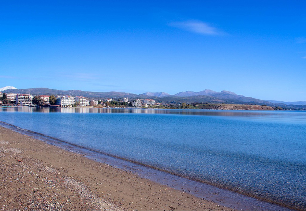 Lefkanti Beach Chalkida Photo: City of Chalkis