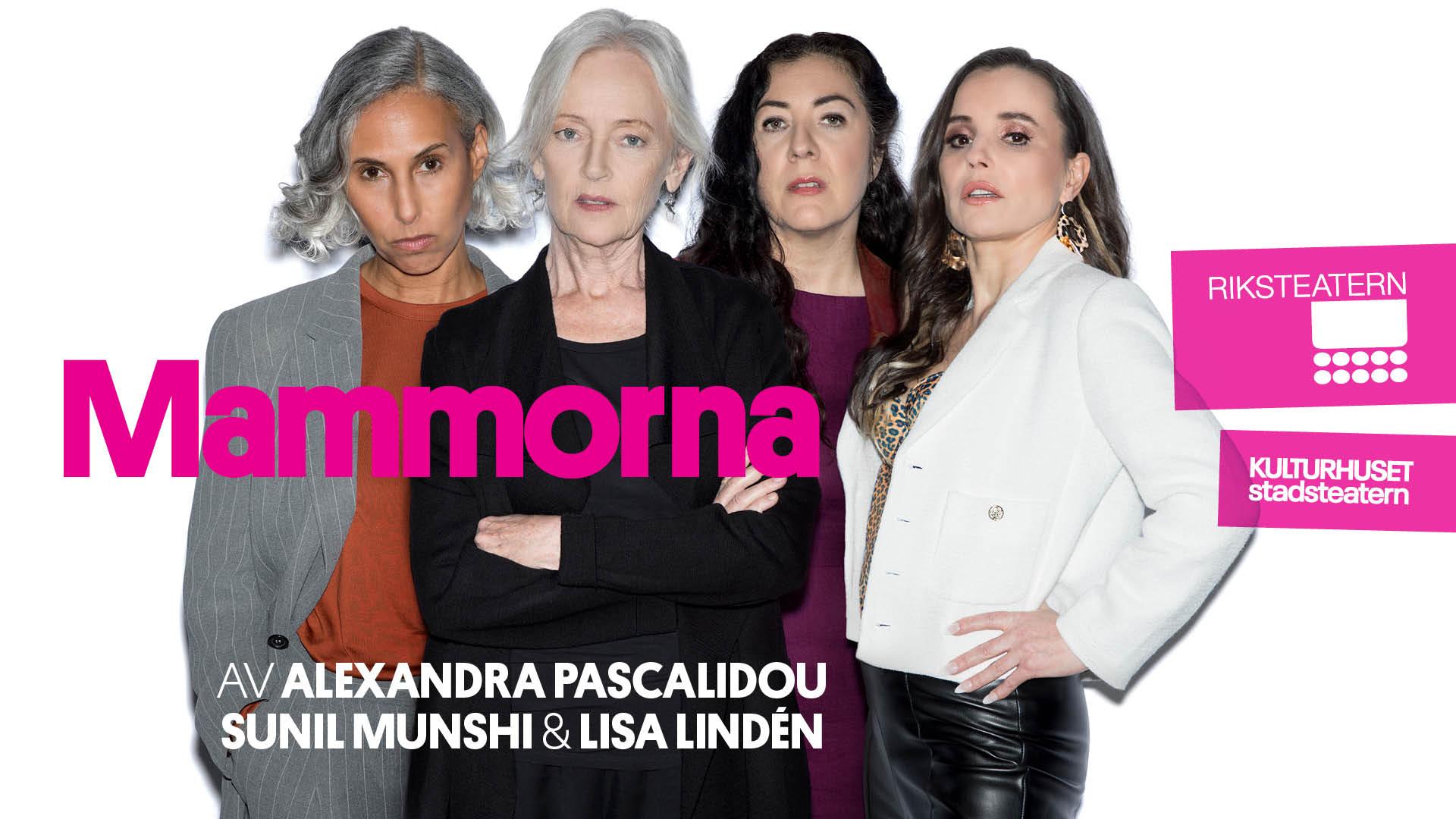 Mammorna - Teater av Alexandra Pascalidou, Sunil Munshi och Lisa Lindén
