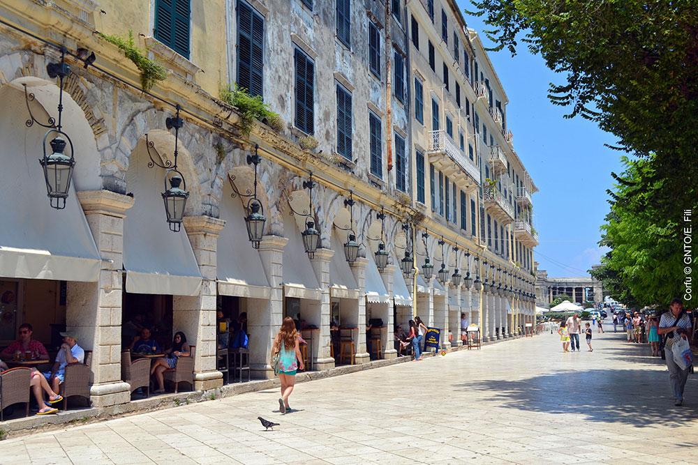 Ionian, Corfu. Photo: GNTO, E. Fili