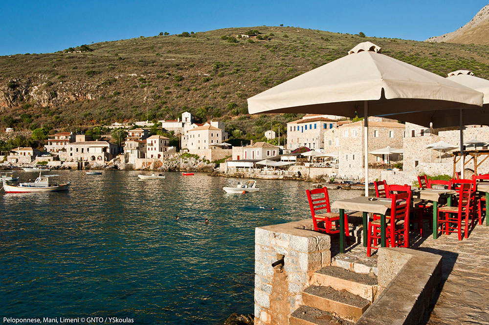 Peloponnese Mani,Limeni, Photo:GNTO/Y.Skoulas